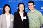 Weitzman students Jing Zhang and Jingzhi Chang with Ben Medler, Principal Data Scientist at Electronic Arts