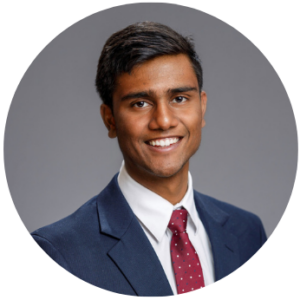 Anish Bikmal, W'23 - circle