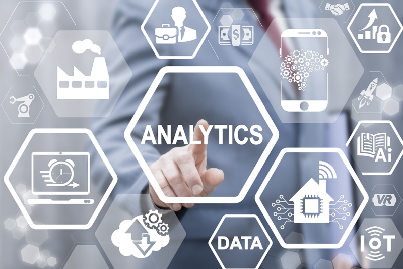 analytics and data icons