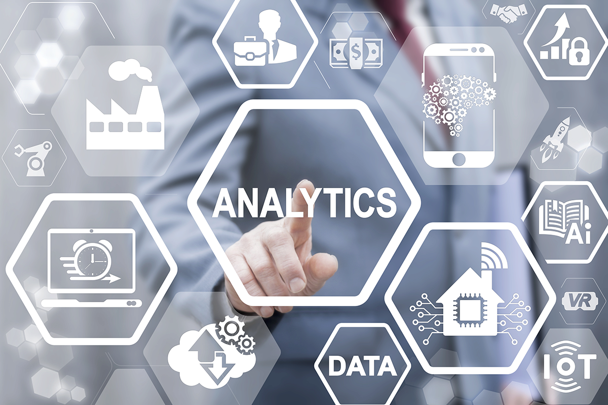 analytics and data icons