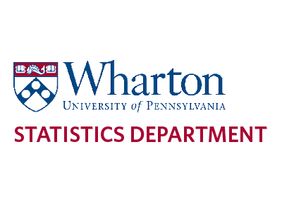 Wharton Statistics Department Logo