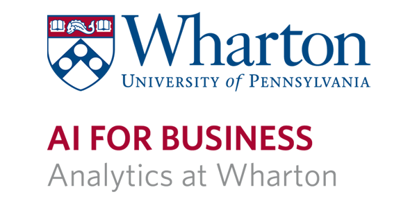 Wharton AI for Business Logo